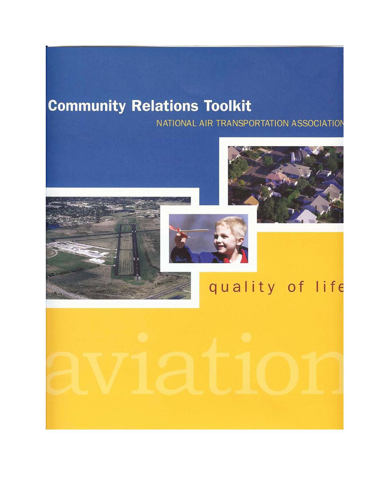Community relations toolkit